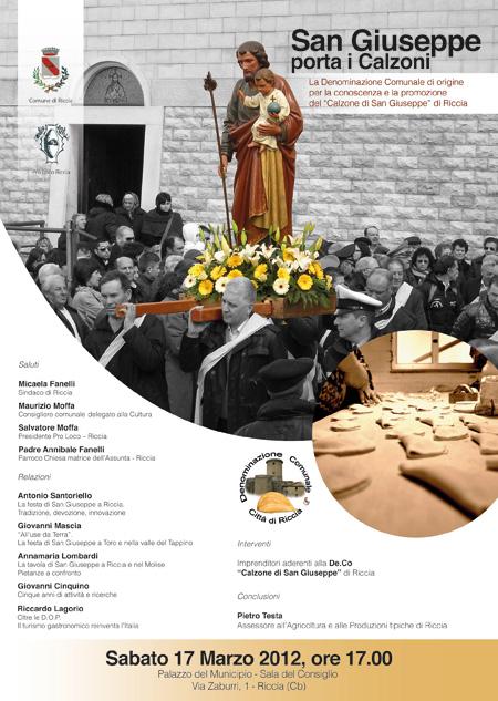 Convegno San Giuseppe porta i calzoni